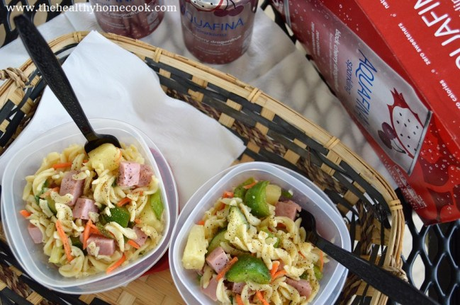 This Hawaiian Pasta Salad is quick to whip up and perfect for you next picnic. Switch up your typical pasta salad with this tropical version!