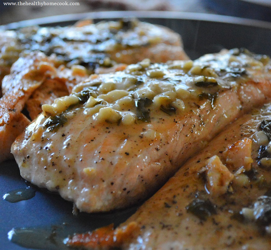 This mind blowing Basil Butter Glazed Salmon is a easy, healthy dinner to make for any occasion.