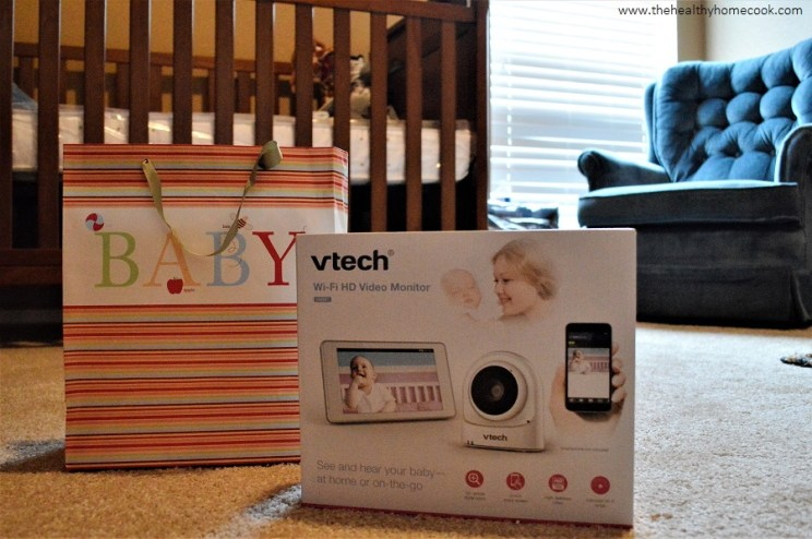 Prepare the new Dad in your life with my Surviving the Newborn Stage for Dads Guide and a VTech VM981 Expandable Video Monitor.