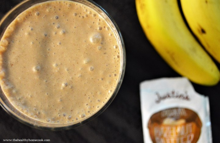 Chocolate Hazelnut Protein Smoothie