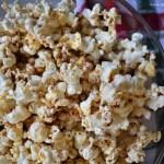 Skinny Maple Cinnamon Popcorn