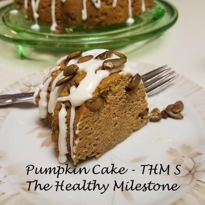 sugar free pumpkin spice bunst cake