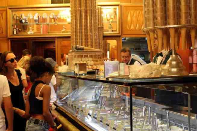 gelato counter