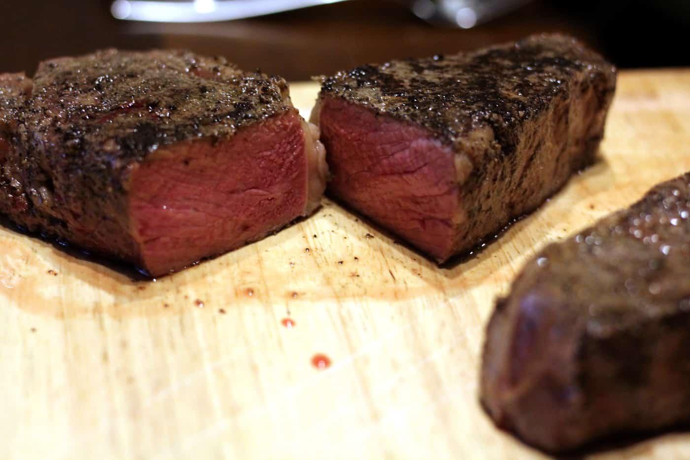 Restaurant-Worthy Steak using Sous Vide