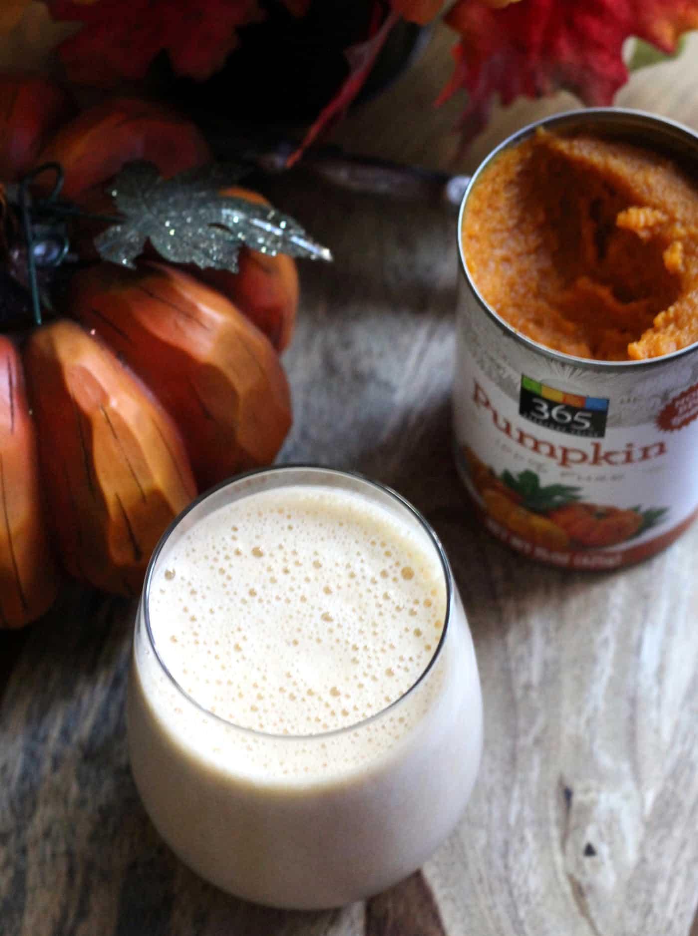 Pumpkin Spice Smoothie (Low FODMAP)