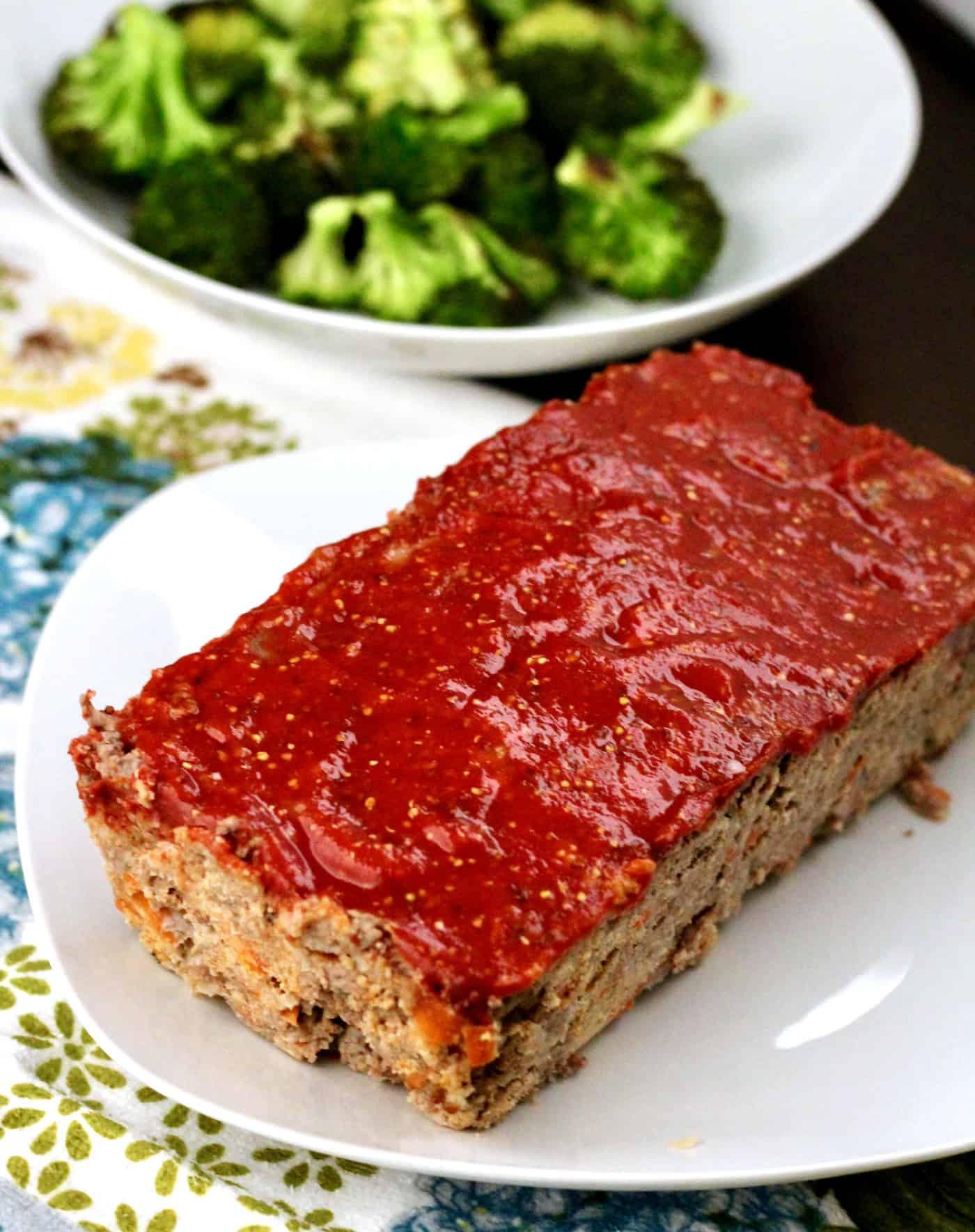 Healthier Bison Meatloaf