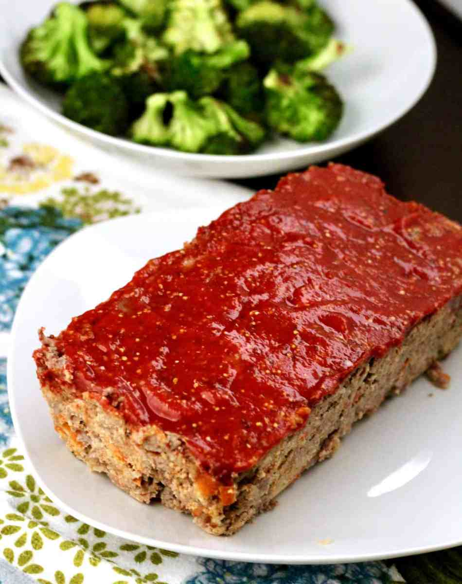 Healthier Bison Meatloaf