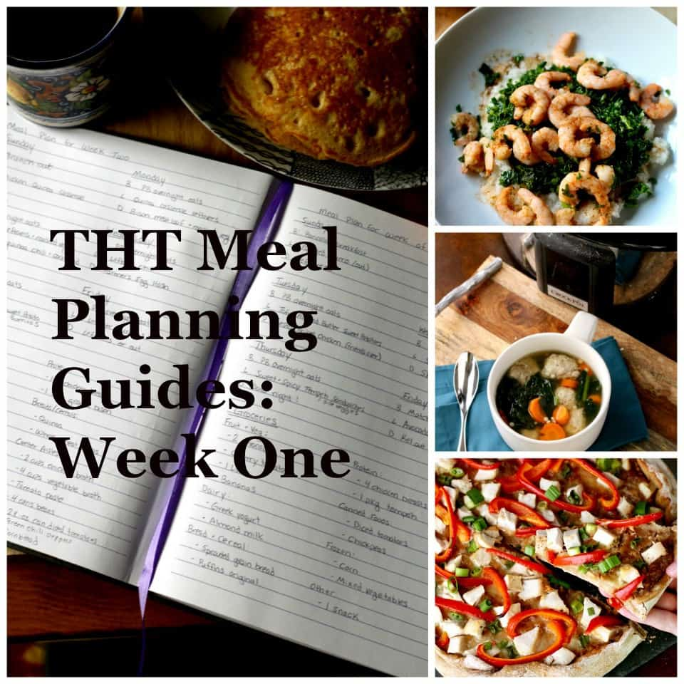 THT Meal Planning Guide #1