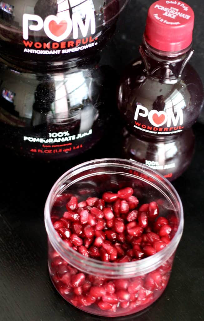 POM juice and seeds