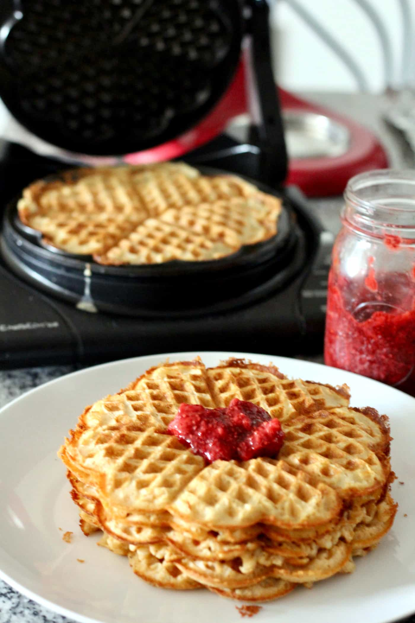 Whole Wheat Norwegian Waffle Recipe