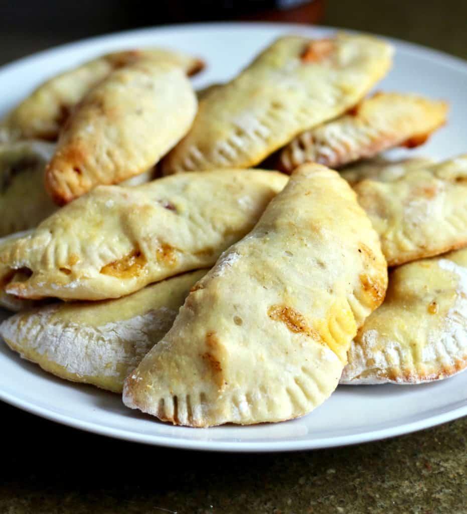 Plate of healthier empanadas