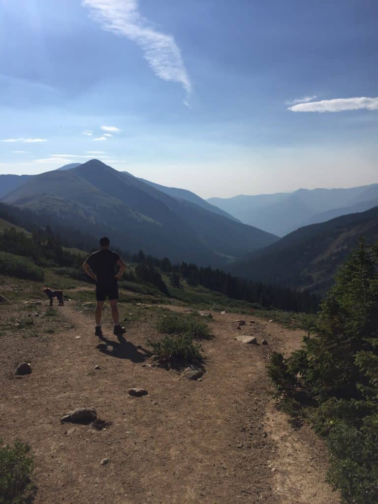 Hiking in colorado