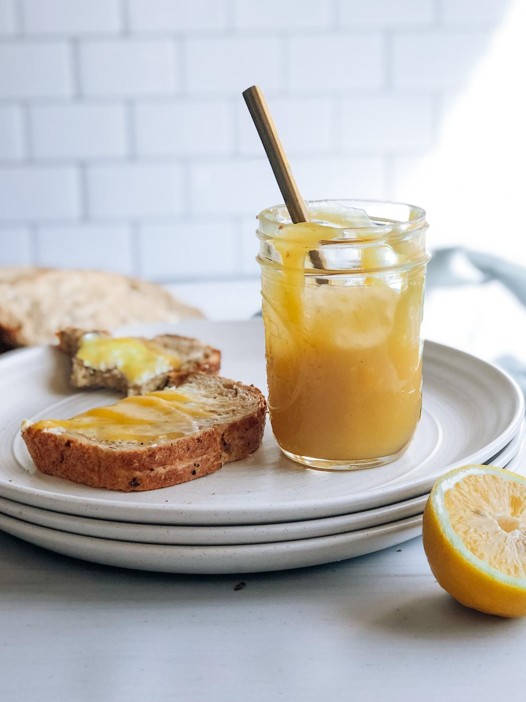 Healthy Small-Batch Lemon Curd