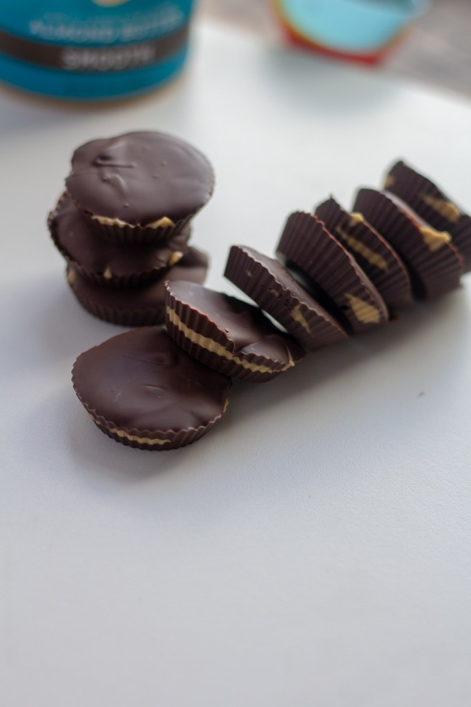Dark Chocolate Mini Almond Butter Cups