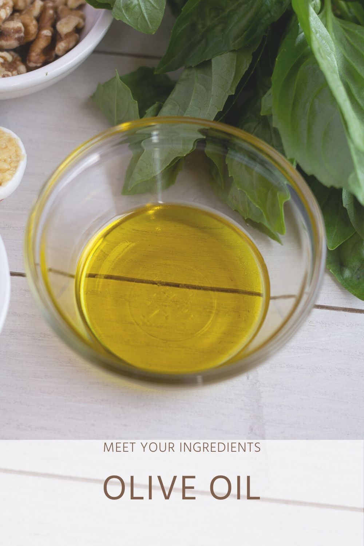 Meet Your Ingredients: Olive Oil