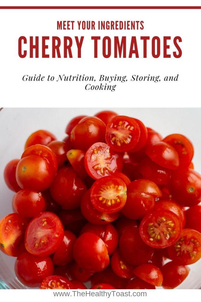 Cherry tomato pinterest image