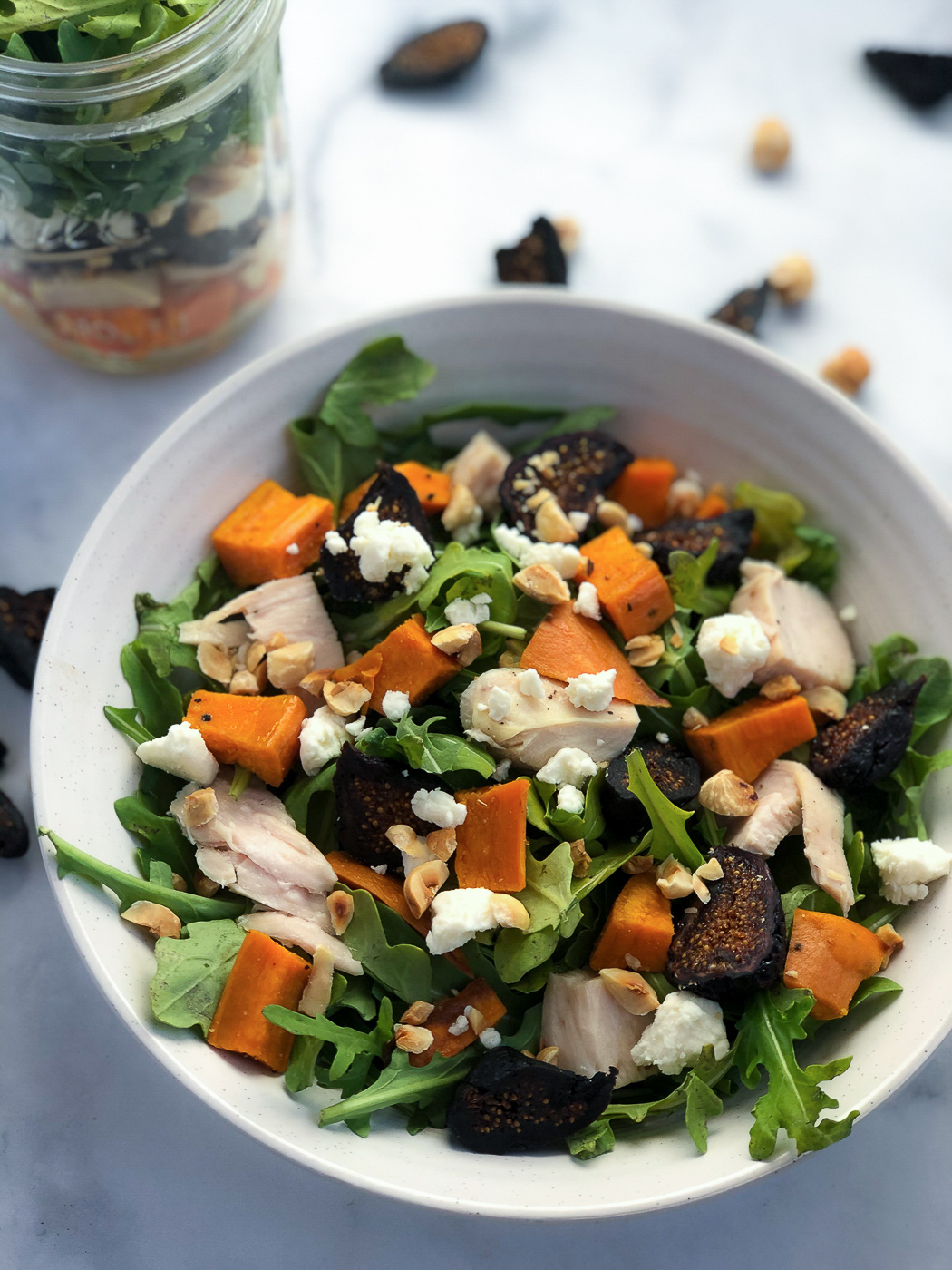 Healthy Fall Fig Salad