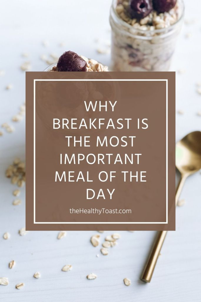 Why breakfast is important