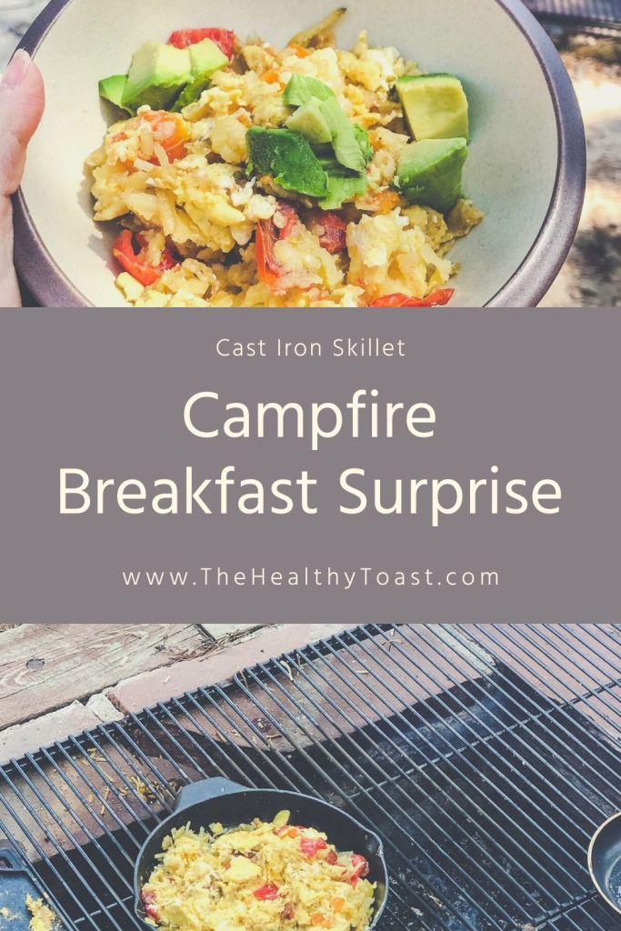 Breakfast Surprise (Egg and Veggie Skillet Recipe)