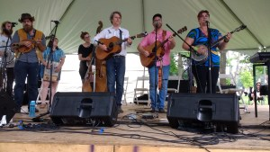 The River Valley Stringband and Amanda Lynn Stubley performing at Home County 2017
