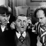 Three Stooges...flapping in relationships
