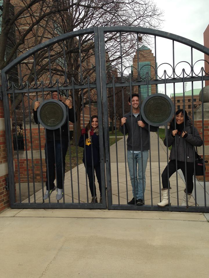 Visiting University of Illinois in Champaign