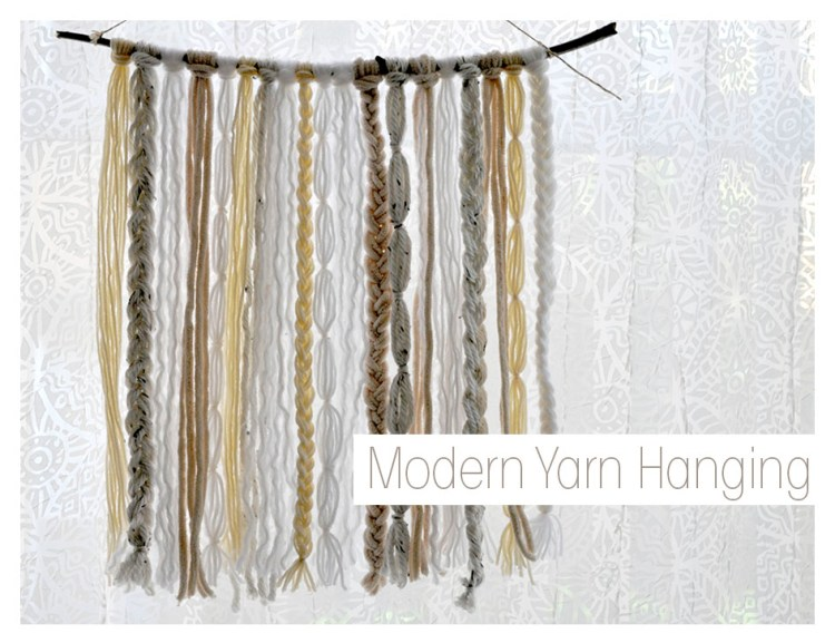 Yarn Hanging Decor
