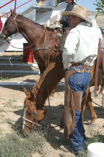 Buddy Pakuer of Meeker participated in last year's Septemberfest rodeo.