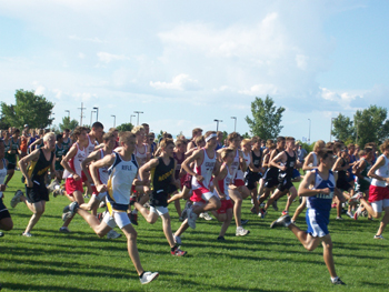 Meeker's boys' cross country runners had a good showing last week at Grand Junction.