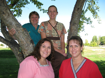 From left, Rangely District Hospital's Kelly Just (lab manager), Debbie Smith, Chelsi Dunn and Chris Allred.