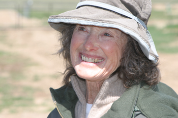 As a sheep rancher, Ethel Owens says it's important to do two things: Pray a lot and have a good dog.