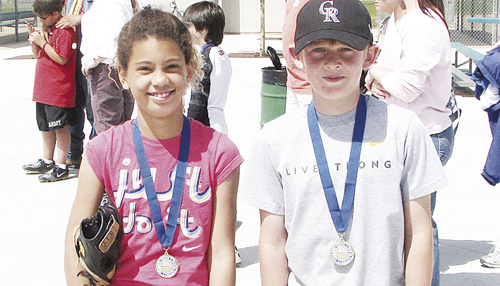Tori Lasker and Chris Scherbarth will compete this Saturday in Coors Field at the MLB Pitch, Hit and Run Colorado Rockies Team Championships. They qualified by winning the local and sectional competitions.