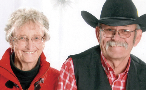 The Collins' have been married since 1959.