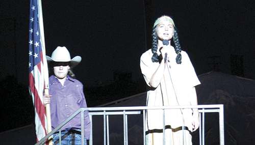 The Meeker Pageant will start at dusk on the Fourth of July.