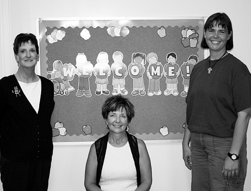 The New Creation Child Development Center, located at 388 Ninth Street, will open Sept. 10. Sue Taylor will be the center's financial director, Mickie Slaugh will be the director/teacher and Beth Wille will also be a teacher. Call 878-3161 for more information.