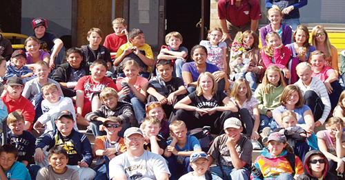 The sixth grade class had a wonderful time at the YMCA Snow Mountain Ranch in Granby, Colo.