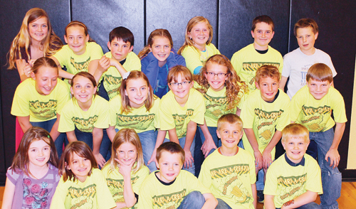 Three Meeker Destination Imagination teams qualified for the Global Finals in Knoxville Tenn., in May. The third-grade team is in the front row; the fifth-grade team in the middle row; and the sixth-grade team in the back row. Meeker has three of the four teams representing the Western Slope as members of Team Colorado.