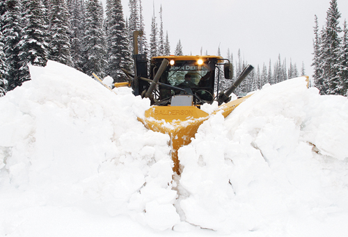 Heavy snow in all parts of Rio Blanco County was a newsworthy subject throughout 2013.