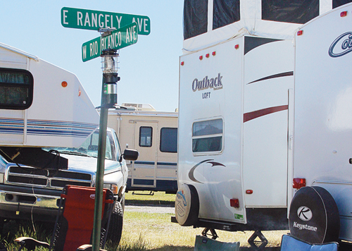All teasing aside, Rangely brought 30 golfers to Meeker, set up camp on site and everyone enjoyed a great weekend of golf.