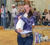 Caitlyn Ducey – Rangely Market Champion Rabbit Sold for $1,250 – Alliance Energy/Hays Petroleum