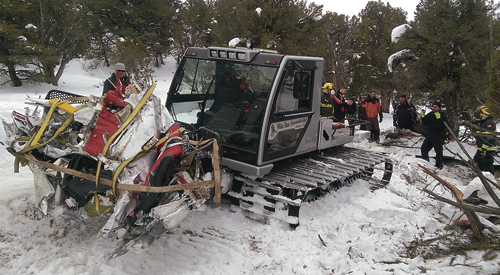 Law enforcement and search and rescue personnel were aided by the the White River Snowmobile Club in removing the remains of the plane crash from the scene so it could be examined by the National Transportation Safety Board to find the cause of the crash. Hiler was the only person on board the plane when it crashed southwest of Rio Blanco Lake.