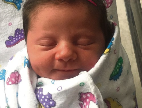 Teigan Bradlee Witherell was born Thursday July 21, 2016, to Rozilynn and Travis Witherell of Rangely. She was born in Vernal, Utah, at 9:46 a.m., weighing 7 pounds, 5 ounces and was 19 1/2-inches long. Grandparents are Darell and Jamie Thacker, Jerry and Sue McKee, and Deven Striegel.
