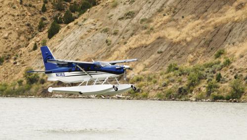 Seaplane on Kenney Reservoir