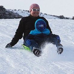 With all the snowfall we've had in the last month, sledding and tubing are a popular way to spend a winter day.