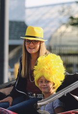 Matt Scoggins Photo Kenzie and Gracie Varner were a bright pair for the parade.
