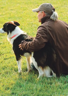 The relationship between dog and handler is an amazing thing to watch. Dale Hallebach