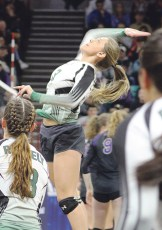 Klaire Denny finished her senior season with 121 kills and 88 digs. Bobby Gutierrez Photo