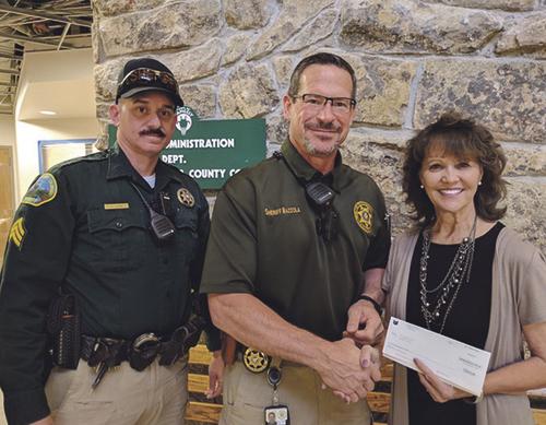 phMKChevronDonation to Sheriff's Office