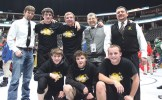 bobby gutierrez photos The Cowboys qualified five wrestlers for the state tournament; Tannen Kennedy, Jacob Pelloni and Ridge Williams, in front. Assistant coach Tyrell Turner, James Amick and Jake Shelton, pictured with head coach J.C. Watt and assistant coach Carl Padilla.