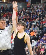 Kennedy has had his arm raised 109 times during his three-year varsity career, which includes, a regional championship, three trips to the state tournament, where he has placed twice.